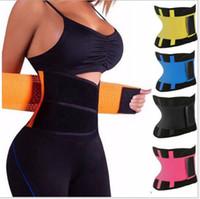 b8e573848 Hot Body Shapers Unisex Waist Cincher Trimmer Tummy Slimming Belt Latex Waist  Trainer For Men Women Postpartum Corset Shapewear