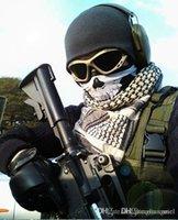 yeni kayak kafatası maskesi toptan satış-Cariel Kafatası Bandana Bisiklet Kaskı Boyun Yüz Paintball Kayak Spor Kafa yeni moda kaliteli Parti Malzemeleri H302 Maske Soğuk