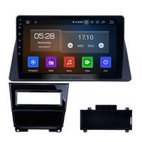 respaldo negro al por mayor-10.1 pulgadas de pantalla táctil HD Android 9.0 Estéreo del coche para 2008-2012 HONDA ACCORDO 8 con Bluetooth GPS Navi WIFI Soporte de copia de seguridad del coche cámara DVD
