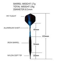 Wholesale electronic darts resale online - 3Pcs g Professional Safe Electronic Darts Set Soft Plastic Tip Competition Training Dart