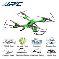 drone syma x5c 2.4g toptan satış-JJR / C JJRC H31 Su Geçirmez Anti-çarpışma 2.4G 4CH 6 Eksenli Quadcopter Başsız Modu LED RC Drone Oyuncak Süper Combo RTF VS H37 Syma X5C