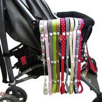 ingrosso fermi portabici-Toys Saver Fixed Passeggino Accessorio Strap Holder Bind Belt Bambino Anti-Drop Hanger Belt Lanyard Hook Baby Ciuccio Clip Holder