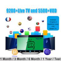 tv-boxen großhandel-40+ Länder IPTV Abonnement Europa Spanien Dutch Italien Portugal Arabisch France USA Vereinigtes Königreich Niederlande Kanada IPTV für Mag androd Box Smart TV