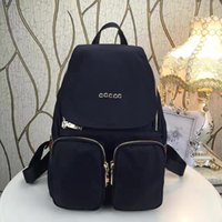 Wholesale popular boys backpacks resale online - Designer backpack fashion designer multi pocket package women and men backpacks high quality handbags popular travel bag