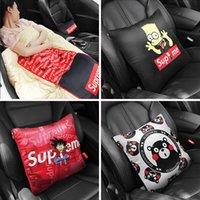 almoço de carros venda por atacado-Fontes carro creativo na moda Car Ar Condicionado Blanket Pillow Quilt Multi-função Almoço Almofada Cobertor ruptura do escritório Início