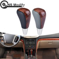 Wholesale transmission gear shift lever for sale - Group buy NS Modify New Automatic Transmission Gear Shift Knob Shifter Lever Stick Knob Head For Toyota Corolla Ralink Vios Car Styling