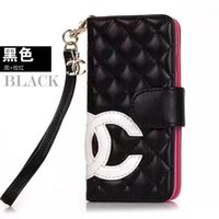 Wholesale big phones for for sale - Group buy Big letter C ladies flip leather wallet phone case cover for iphone XS max Xr X plus plus plus with card slot brand design