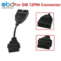 Wholesale 16 pin gm connector for sale - Group buy Hot Selling For GM Pin To Pin OBDII Connector OBD OBD2 Cable For GM Cars Pin to Pin Female Male Adapter Interface