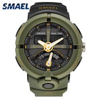 Wholesale christmas electronics resale online - New Watch Smael Brand Watch Men Fashion Casual Electronics Wristwatches Hot Clock Digital Display Outdoor Sports Watches