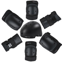 Wholesale rock cycling for sale - Group buy Protective Gear Set Skating Helmet Knee Pads Elbow Pads Wrist Protector for Kids Adults Cycling Roller Skating Rock Climbing
