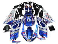 calcomanías de moto azul negro al por mayor-Nuevo cuerpo para Aprilia RS4 RSV125 RS125 06 07 08 09 10 11 RS125R RS-125 RSV 125 RS 125 2006 2007 2008 2010 2010 2011 Kit de carenado Fiat