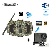 Wholesale wireless gprs online - Bolyguard hunting camera MP P Trail Camera G Wireless GSM phone MMS GPRS thermal imager Photo Trap wild and BA101