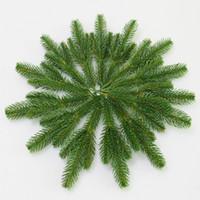 Wholesale pine tree flower resale online - Flone Artificial Pine Needles Simulation Plant Flower Arranging Accessories For Christmas Trees Decorative Flores