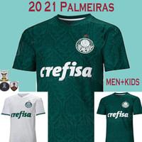 calças de futebol branco rosa venda por atacado-MEN+Kids 20 21 soccer jerseys Palmeiras SP Camisa de Futebol 2020 2021 Palmeiras football shirt DUDO JEAN FELIPE MELO ALLIONE CLEITON men kids kit