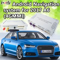 Wholesale gps processor resale online - Backup Camera G Android Navigation Interface for G MMI A6 with Core Processor Dynamic Parking Guideline GPS