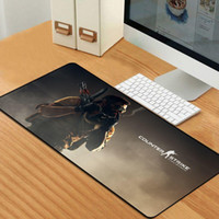 Wholesale counter mats resale online - 80x30CM Mouse Pad Locking Edge Gaming Mousepad Gamer Large Rubber Mat For Counter Strike CS GO GameCSGO Keyboard Pad