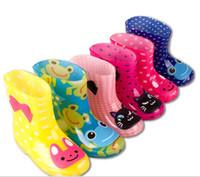 exportaciones de caucho al por mayor-Botas de lluvia para niños fabricantes directos de PVC de bajo cilindro para niños, zapatos para agua, zapatos de goma, zapatos para niños, zapatos para lluvia