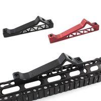 ingrosso m4 parti-Grip Parts Metal Bridge Shape Support Holder Hand Guard Caccia Accessori Grip Handle per airsoft Toy fucile imbracatura ar15 m4