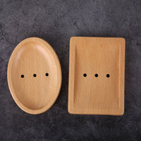 ingrosso piatti giapponesi-Portasapone in legno Portasapone semplice creativo giapponese Portasapone manuale in legno naturale Piatti 2 stile HHA585