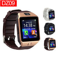 Wholesale mobile homes for sale - DZ09 Smart Watch Dz09 Watches Wristband Android Watch Smart SIM Intelligent Mobile Phone Sleep State Smart watch