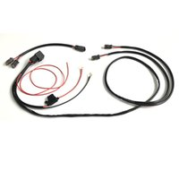 Wholesale wiring harnesses for cars for sale - Group buy Connecting Car LED Work Light Wiring Harness With DT Connecter Waterproof Universal for Long Strip Light Off road Spotlights