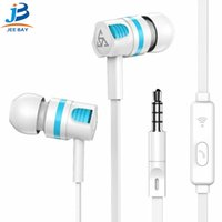 Wholesale headphone control android for sale – best PTM T2 sports headphone in ear cable control with microphone earplugs ios Android universal mobile phone headset