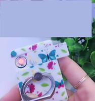 çakmak telefon tutacağı toptan satış-Halka Cep Telefonu Tutucu Braketi USB Elektronik Çakmak Rüzgar Geçirmez Şarj Edilebilir Çok Fonksiyonlu Çakmak 8 Renkler Noel Hediyesi