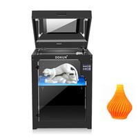 extrusora dupla 3d venda por atacado-Impressora 3D 360x400x500mm Dupla Extrusora + Dual bocal Dois Impressora de Cores 3d Com 1 KG ABS ou PLA Filamento Como Presentes