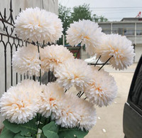 Wholesale onion flowers for sale - Group buy High grade embroidered onion flower imitation decoration wedding hand held flower road introduction wall false flower WL778