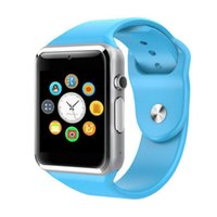ip saatleri toptan satış-A1 Akıllı İzle IOS iP Sams Android Telefon için Bluetooth Smartwatch Akıllı Saat Smartphone Spor Saatler
