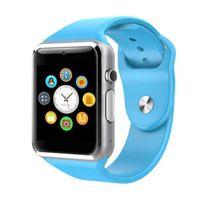 ip sport großhandel-A1 Smart Uhr Bluetooth Smartwatch für IOS iP Sams Android-Handy Intelligente Uhr Smartphone Sportuhren