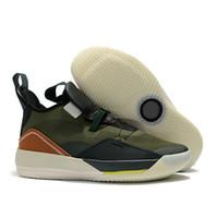 zapatillas de baloncesto en el futuro al por mayor-2019 Zapatos retro de baloncesto Jumpman 33 Zapatos Visible Zapatillas de deporte utilitarias Hombres Zapatos Futuro vuelo Blackout Dando la vuelta al reloj en el aire J33