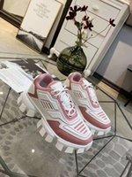 tejido de punto blanco negro al por mayor-Últimos zapatos para hombre Colección Cloudbust trueno Knit Deporte, tela de gran tamaño eyestay Entrenadores Hombres zapatos en blanco NO3 Negro Senderismo