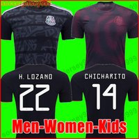 b3c251b15 Wholesale mexico jerseys online - Mexico soccer jersey Gold Cup Camisetas  MEN WOMEN KIDS CHICHARITO LOZANO