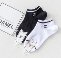Wholesale girls socks sale resale online - Hot sale Tide Embroidery Girls Sock Slippers Hip Hop Personality Female Skateboard Socks Outdoor Breathable Lady Cotton pairs