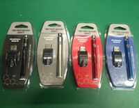 paquete de baterías ego twist al por mayor-Hot Blister Pack 350VV Precalentamiento de la batería 350mAh Kit de cartucho de giro inferior Vape Pen Voltaje variable Ego Spinner Battery con kits de cargador USB