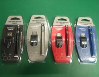 ego büküm pil takımı toptan satış-Sıcak Blister Paketi 350VV Ön Isıtma Pil 350 mAh Alt Büküm Kartuş Kiti Vape Kalem Değişken Gerilim USB Şarj ile Ego Spinner Pil kitleri