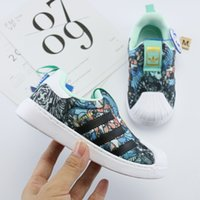 Wholesale athletic free run shoes for sale - Group buy 2019 new Children Casual Sneakers Kids Athletic Shoes Boys And Girls Running Shoes size25 Chaussures Pour Enfant
