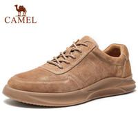 CAMEL Frühling, Sommer, strukturiertes Leder Herrenschuh Lace up Mann im Freien beiläufigen Schuhe starke unteres Stich Anti Rutsch Tide Männlich