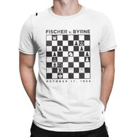 Wholesale free chess game for sale - Group buy Men T Shirt Chess Cotton Tees Short Sleeve King s Board Game Horse Fan Player Dad T Shirts Crew Neck Clothes Printing