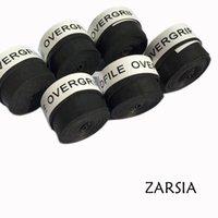 surgrip tennis noir achat en gros de-Livraison gratuite 10pcs (Noir) OverGrip Badminton / poignées de tennis / surgrips de tennis # 40238