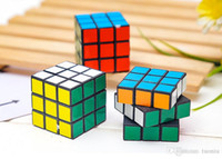 juguetes rubik al por mayor-3cm Mini Puzzle cube 3x3x3cm Magic Rubik Cube Juego Rubik Learning Juego educativo Rubik Cube Buen regalo Juguete Juguetes de descompresión