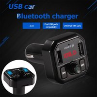 Wholesale mp3 player 1pcs for sale - Group buy 1Pcs High Quality h khz Bluetooth Car FM Transmitter Wireless Radio Adapter USB Charger Stereo MP3 Music Player V4 EDR