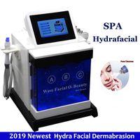 Wholesale wrinkle machine for skin resale online - Hydro Dermabrasion Diamond Peeling Hydra Mesotherapy Skin Tightening Machine Chemical Peel Ultrasonic RF Skin Rejuvenation Devices for Spa