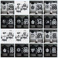 Wholesale 88 games resale online - 88 David Pastrnak Mitch Marner Marc Andre Fleury Sidney Crosby Tavares Brent Burns McDavid All Star Game Jersey