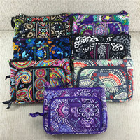 Wholesale print fabric china resale online - VB Messenger Bag Wallet Purse Bohemian style Woman Fanny pack Waist Bag Flower Print Handbag Crossbody Bags Credit Card Holder C72902