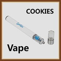Wholesale Cookies Disposable Vape Pen Empty Starter Kit mAh Battery ml Ceramic Coil Thick Oil Cartridge Tank Vaporizer Kit