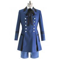 Wholesale kuroshitsuji ciel phantomhive cosplay resale online - Black Butler Kuroshitsuji Ciel Phantomhive Cosplay Costume