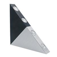 ingrosso alloggiamento per apparecchi di illuminazione-2019 New Modern Led Triangle Alluminio 3W 5W Sconce Lampada a Led AC Creativo Industriale Luce Indoor Outdoor Apparecchi di Illuminazione Casa Lamparas RGB