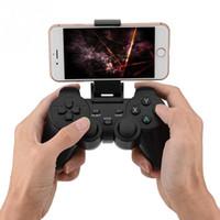 almohadilla de juegos para móviles al por mayor-2.4G Wireless Smart Gamepad Bluetooth Game Pad Controller para TV Box PC Teléfono móvil Android Universal